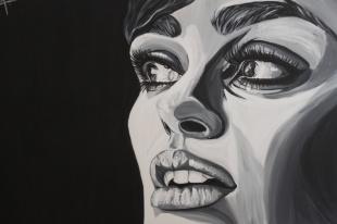 #4, Acrylique sur toile, disponible également avec art Rookie