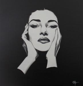 La Callas, acrylique sur toile, disponible aussi avec Art Rookie