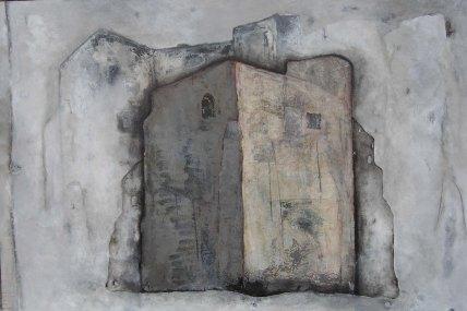 Eglise abandonnée, 150x100cm