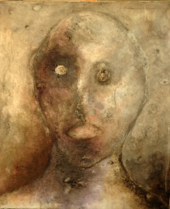 Portrait, 50x60cm, huile sur toile