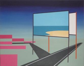 Sans titre, 120x150cm, acrylique sur toile, disponible aussi avec Art Lover