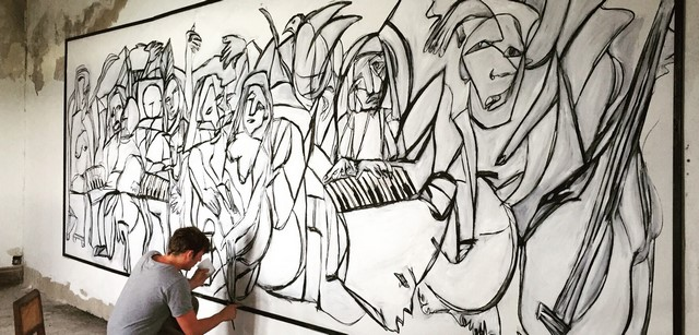 Mathieu Chavaren, work in progress