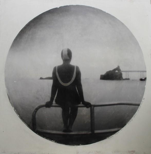Fabien Cayere, photo sténopé, transfert sur bois, 75x75cm